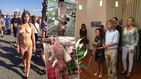 Po Praze chodí nahé ženy: Kde a proč? A bezdomovci vyrazí na svatební cestu