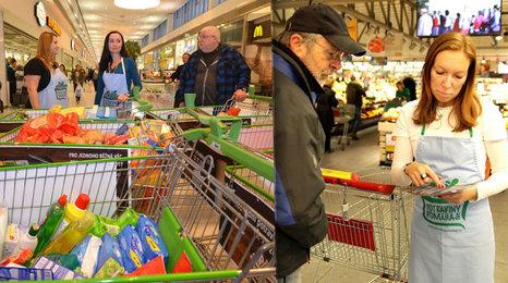 Nakupte jídlo nebo drogerii lidem v nouzi: Pro dětské domovy, samoživitelky a seniory