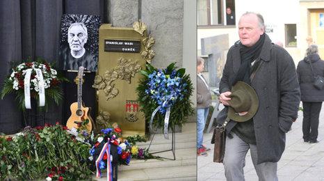 Igor Bareš na pohřbu Wabi Daňka (†70): Ostrá kritika a politický skandál!