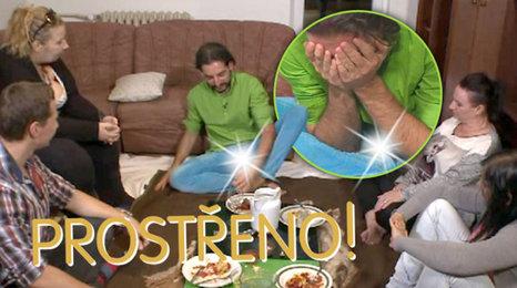 Dobrodruh Pavel před kolapsem v Prostřenu: Vystrčil na hosty přirození!