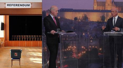 Horáček: Češi jsou silní, mají hlasovat v referendu. Fischer je proti
