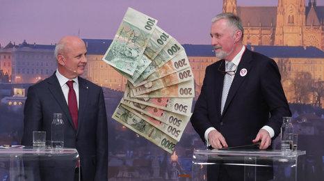 Odpustit zadluženým Čechům penále? Horáček je pro, Topolánek říká: Hazard!