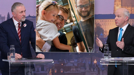 Svěřit opuštěné dítě z ústavu gay nebo lesbické rodině? Ne, shodli se Fischer a Topolánek