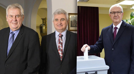 Zeman opomenutý předseda Senátu Štěch: Budu volit Drahoše, vztah se Zemanem je chladný