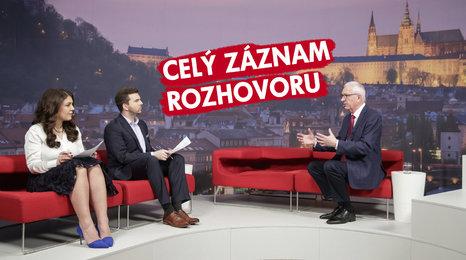 """Drahoš v Blesku přiostřil: """"Zeman je politik mafiánských struktur. Není schopen vést stát"""""""