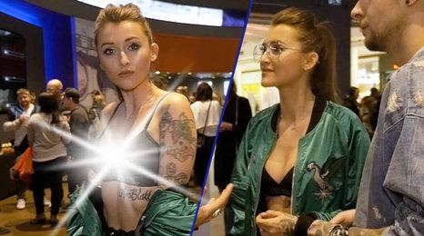 Raperka Sharlota bez bundičky: Předvedla tetování a skvěle padnoucí podprsenku