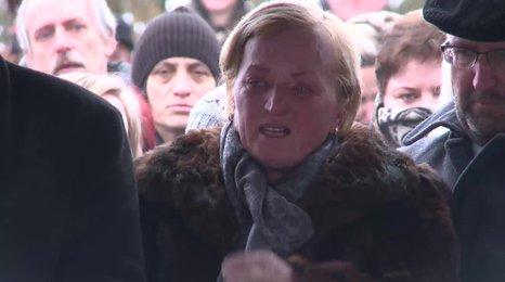 Krutá vražda novináře a jeho přítelkyně: Slovensko se loučí s Martinou (†27), její maminka sotva stála na nohou