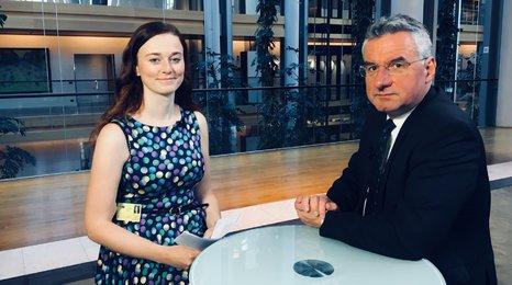 Europoslanec Jan Zahradil: Czexit neberu moc vážně, teprve u referenda by se ukázalo, zda to lidé skutečně chtějí.