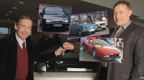 Lada, Ferrari testarossa? Mototechna Classic láká milovníky veteránů, nakoupili i od Havla