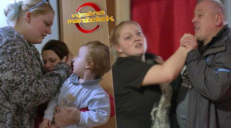 Děti v šoku z rvačky táty a náhradní mámy: Drsný dojezd Výměny manželek!