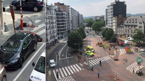 Ozbrojený muž v Lutychu zastřelil dva policisty a mladého muže