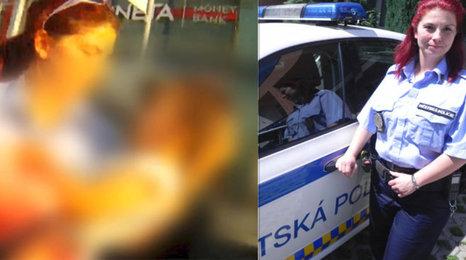 Strážnice Silvie Březinová o záchraně holčičky z rozpáleného auta