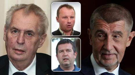 Premiér Babiš utekl z Lán před demonstranty: Nenechám si nadávat