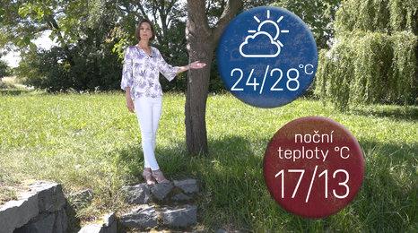 Počasí na prodloužený víkend: Čekají nás tropy s občasnými bouřkami