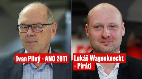 """DUEL Pilný - Wagenknecht: Dva """"Babišovi muži"""" se přeli, zda mají svatebčané udávat, kde měli hostinu"""