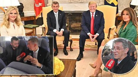 """Babiš o sobě i Monice v Bílém domě: Jak to měli s nervozitou a """"ztraceným"""" bratrancem?"""