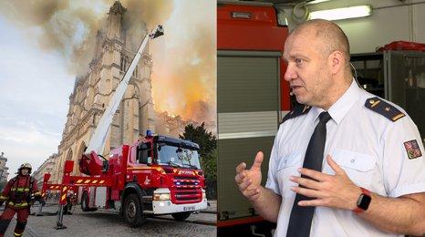 Hasičský expert: Mohli hasit Notre Dame ze vzduchu, ale věděli, proč to neudělali