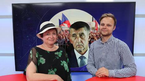 Politoložka Dvořáková: Lidé protestují, protože se země dostává do mrtvého stavu