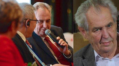 Zeman přiznal, že se o šikaně českých podnikatelů v Číně dozvěděl z Blesku