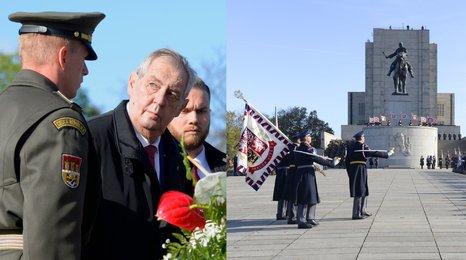 Zeman, Babiš i gripeny na Vítkově: Česko se připomnělo 101. výročí vzniku Československa