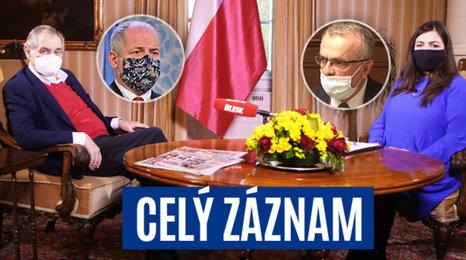 Celý záznam pořadu S prezidentem v Lánech: O koronaviru, zdraví a vládních opatření