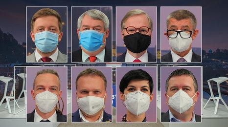 Apel na voliče v superdebatě Blesku: Co lidem slíbila osmička stranických lídrů?