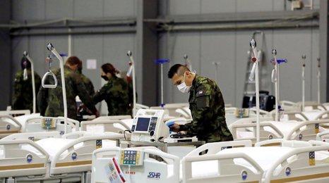 Podívejte se do polní nemocnice v Letňanech: Tady pomůžou, až bude v Česku s covidem nejhůř