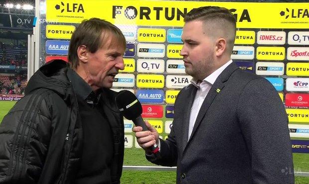 Straka po zápase Sparta - Karviná: Neuhlídali jsme domácí náběhy