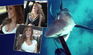 Co se děje s výstřihem během rychlé jízdy? A jak přežít střet se žralokem!