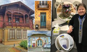 Netradiční čtvrť v Praze, která stojí na hradbách! A krásné WC, kam si lidé chodí pokecat