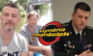 Nový šéf dopravní policie Zlý ve Výměně manželek: Hlazení s partnerem před kamerou!