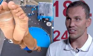 Highdiver Navrátil v pořadu OVERTIME: Každý skok bolí - i ten povedený