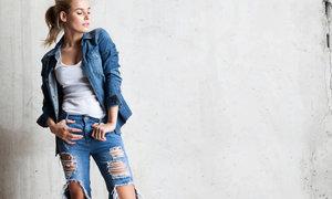 Historie džín: kdy se nosily lacláče, kdy vznikly mini šortky a kdy minisukně?
