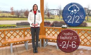 První adventní víkend bude ledový: Rtuť spadne až k mínus deseti stupňům