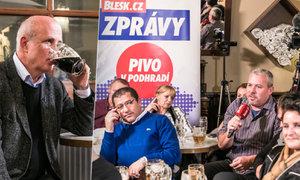 Pivo v podhradí s Michalem Horáčkem: Nejsem žádné ořezávátko