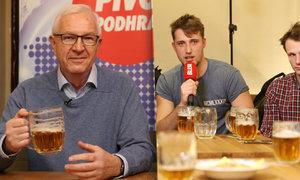 Pivo s Jiřím Drahošem: Na chleba si mě nikdo nenamazal a Topolánka jsem zažil jako premiéra