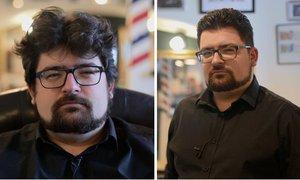 Proměna v barbershopu: Z neupraveného bohéma gentlemanem