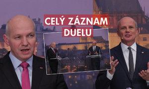 Fischer vs. Horáček o vojně, referendu a prezidentovi: Kdo z nich byl lepší v duelu?