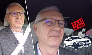 "Drahoš v taxíku na Hrad: ""Už není důvod volit Zemana."" A za co ho chválí?"