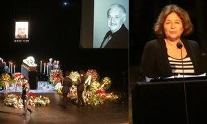 CELÝ ZÁZNAM: Pohřeb Mariána Labudy (†73): Zlomená Vášáryová a žertující Polívka!