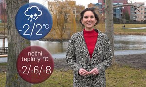 Víkend ochladí studený vzduch, hrozí sněhové jazyky. Jak počasí ovlivní chřipky?