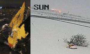 Explozi ruského letadla zachytila kamera na domě. Tragédii nepřežilo 71 lidí