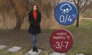 Počasí na víkend: Čeká nás déšť a namrzlé chodníky