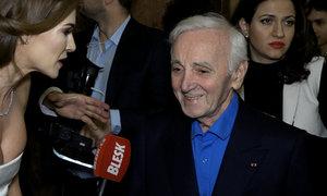 Verešová pro Blesk zpovídala Charlese Aznavoura! Co krásce řekl?