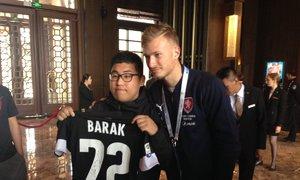 Baráka překvapil Číňan s dresem Udine: Svoje jméno bych tu nečekal