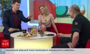 Moderátor Říbal žertoval o uhořelých dětech: Přešlap ve Snídani s Novou!