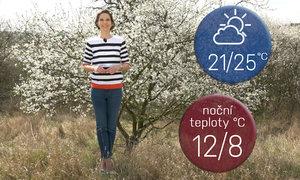 Předpověď na víkend: Jaro v rozpuku, bude až 23 °C, obdělejte trávník i zahrádku