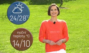 Počasí na čarodějnice i 1. máj: Čekáme nejteplejší den měsíce. Až 28 stupňů