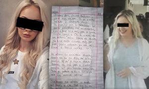 Pašeračka Tereza napsala Blesku: Dopis z pákistánského kriminálu!
