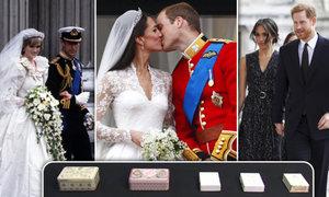 Ve Vegas budou dražit kousky dortů z královských svateb. Nejvíc si cení toho od Diany a Charlese